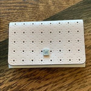 Lodis Blush Pink Perforated Business Card Holder